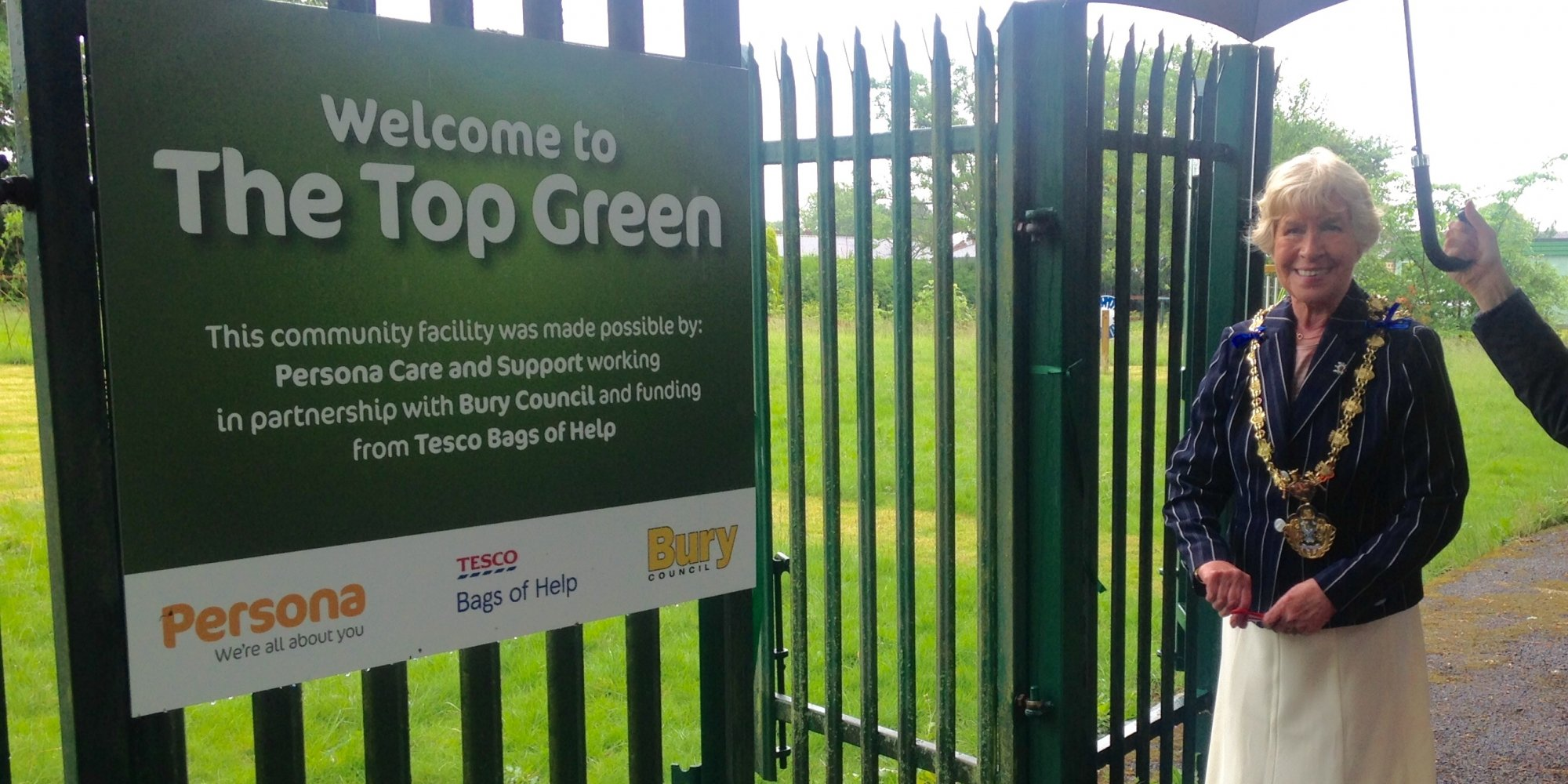 Official Opening of the Top Green