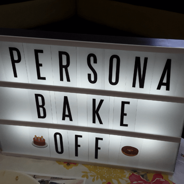 The Great Persona Bake Off