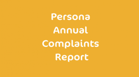 Persona Annual Complaints Report